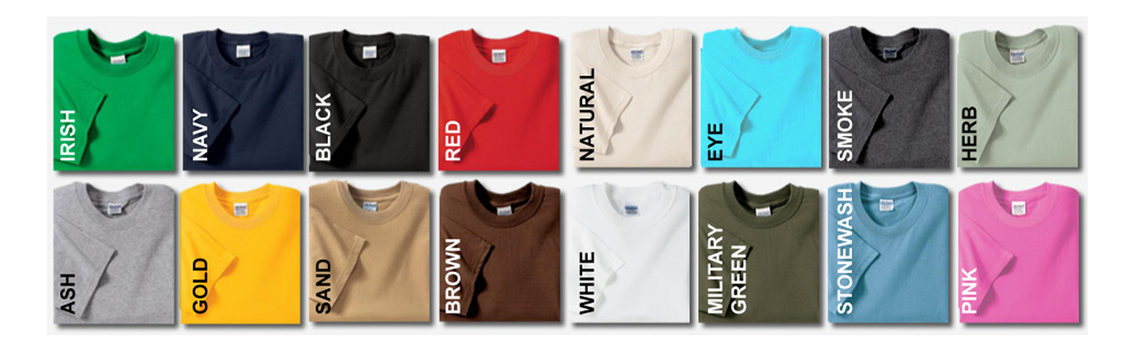 Irsih , Navy, Black, Red, Natural, Eye, Smoke, Herb, Ash, Gold, Sand, Brown, White, Military Green, Stonewash, Pink