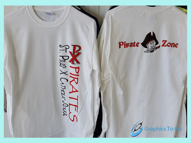 St. Puis Pirates color tshirt